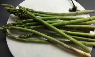 gruener spargel, frisch, rezept
