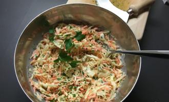 coleslaw oder krautsalat