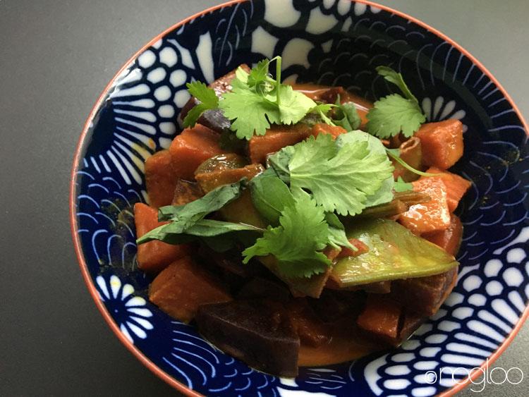 curry vegan glutenfrei