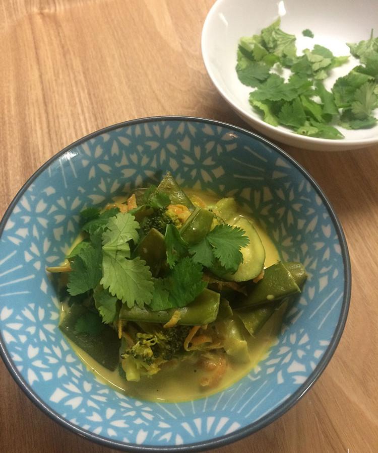 curry gemuese vegan