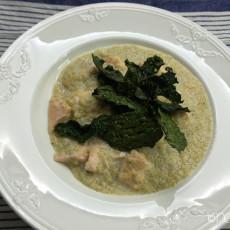 glutenfreies quinoa risotto mit lachs