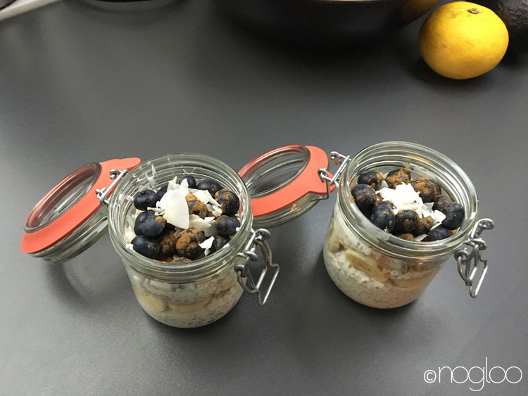 chia hafer overnight oats
