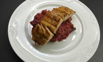 glutenfreies quinoa rote bete risotto