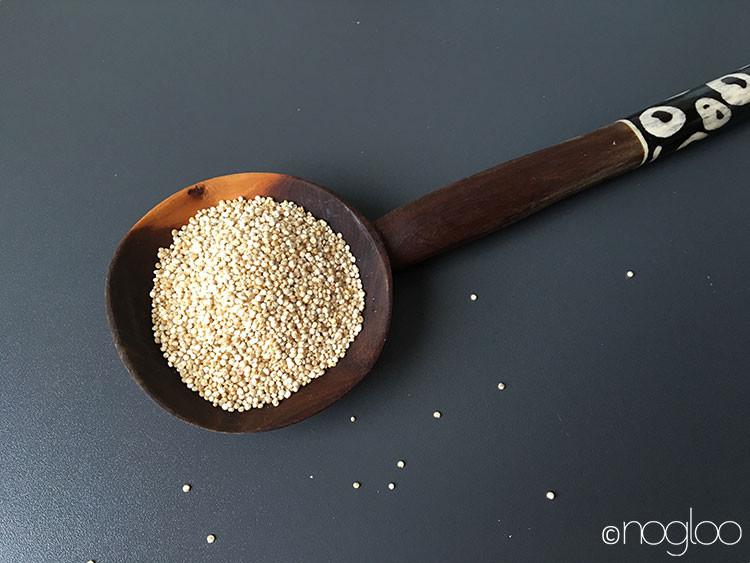 Glutenfrei - Quinoa Zubereitung