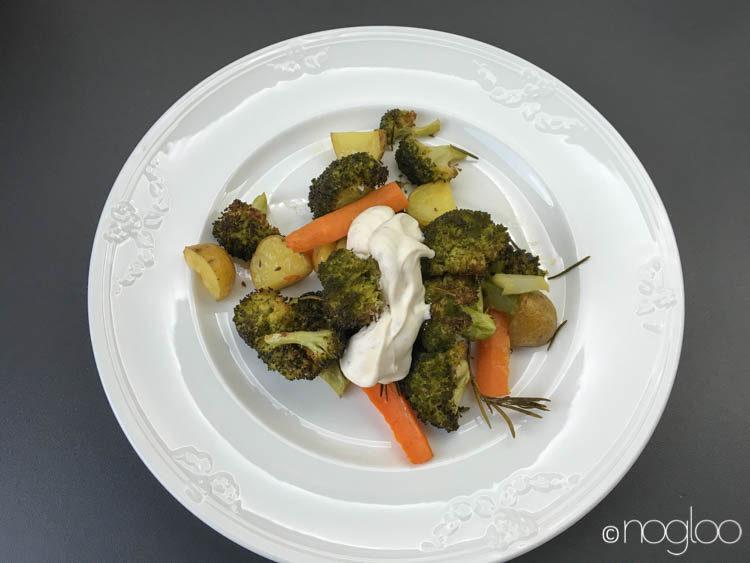 Ofengemüse mit Brokkoli