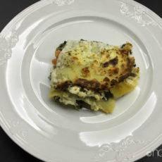 Glutenfreie Lasagne mit Spinat
