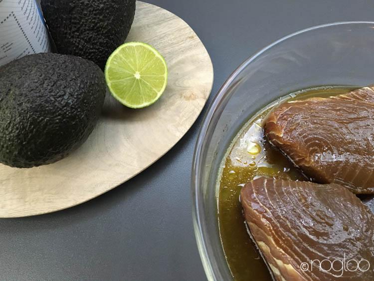 thunfisch marinade