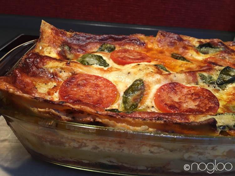 vegetarische lasagne glutenfrei