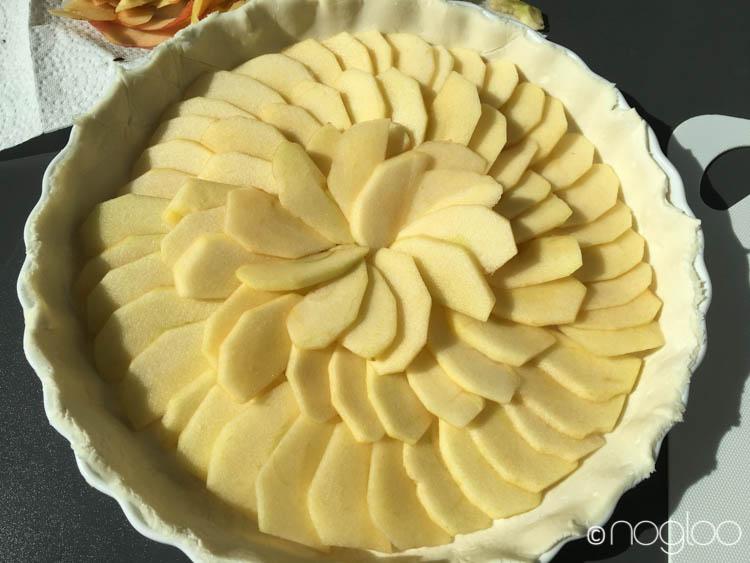 glutenfreie apfel tarte