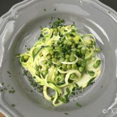 gemuesenudeln low carb zucchini