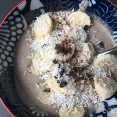 Chia-Oats-Pudding mit Banane